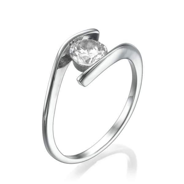טבעת אירוסין קלאסית האחת