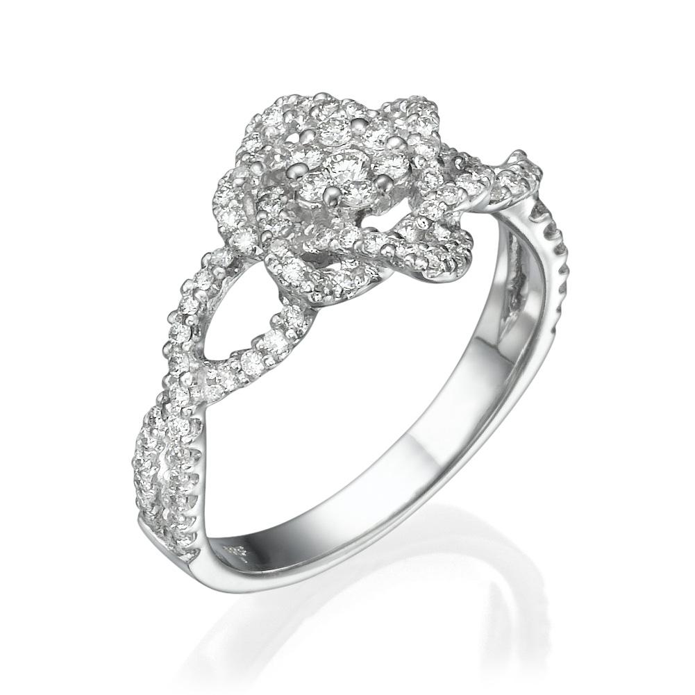 טבעת יהלומים לה-בל
