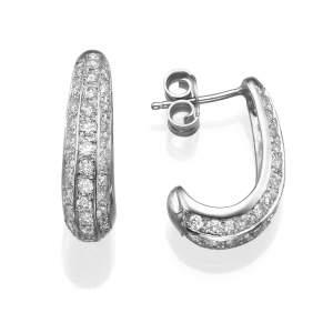 עגילי יהלומים ג'סיקה