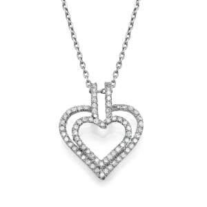 תליון יהלומים חץ האהבה