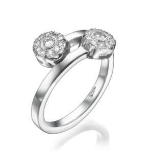 טבעת יהלומים גרייס