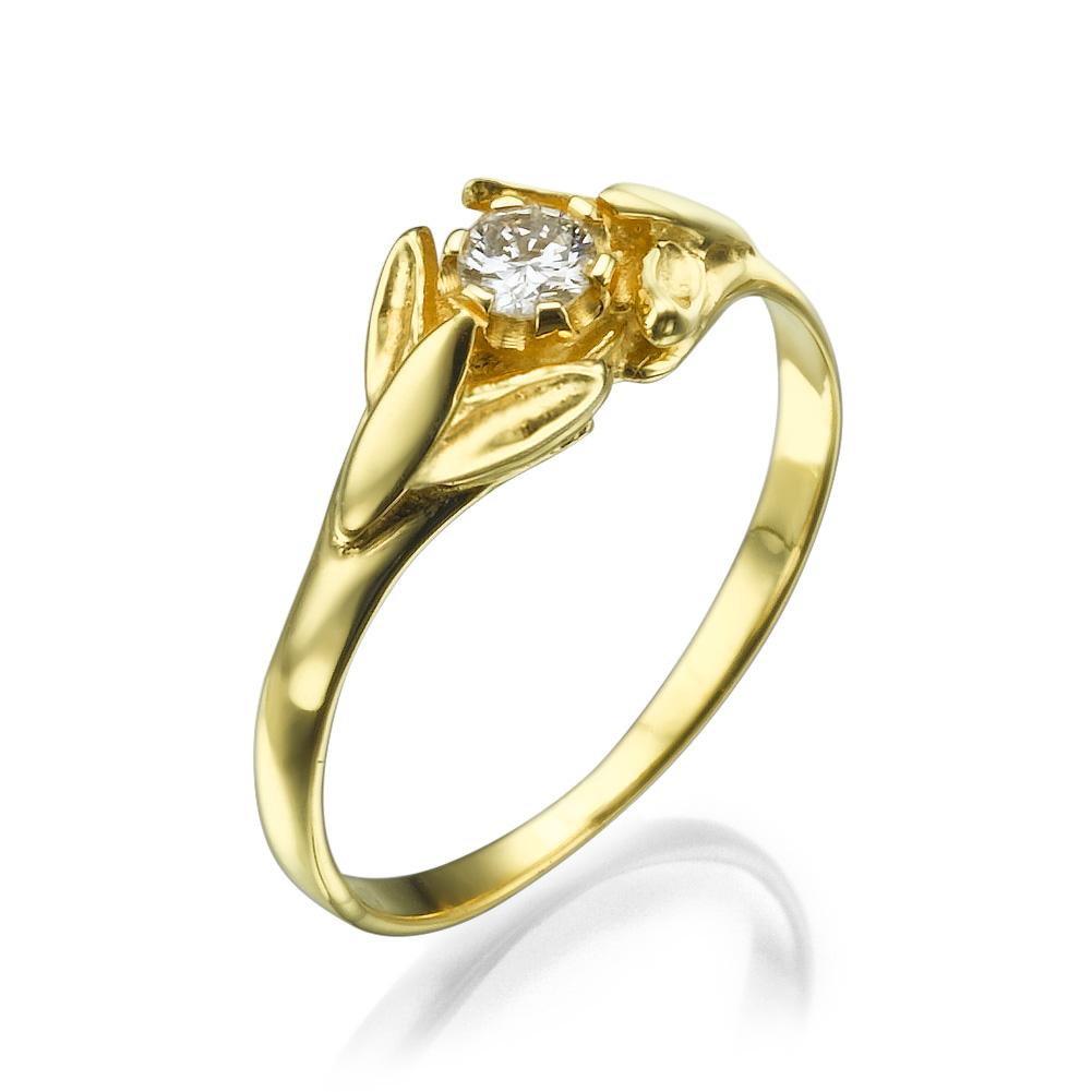 טבעת יהלום סיקרט