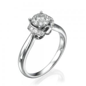טבעת יהלומים שיה
