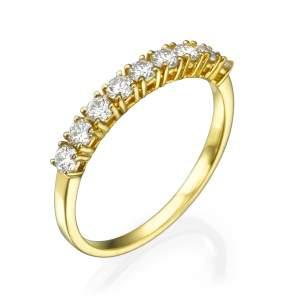טבעת קשת היהלומים