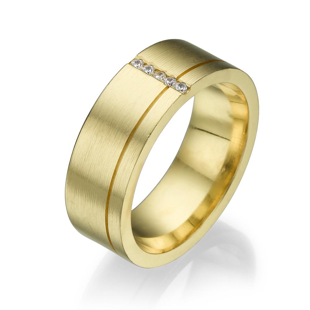 טבעת נישואין PM008