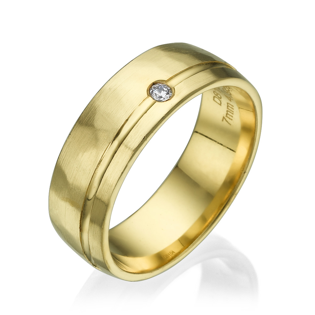 טבעת נישואין PM034
