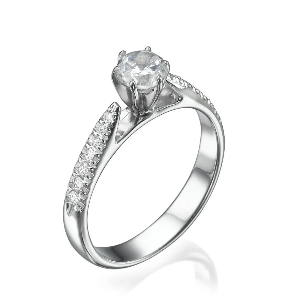 טבעת אירוסין מיוחדת אמבר