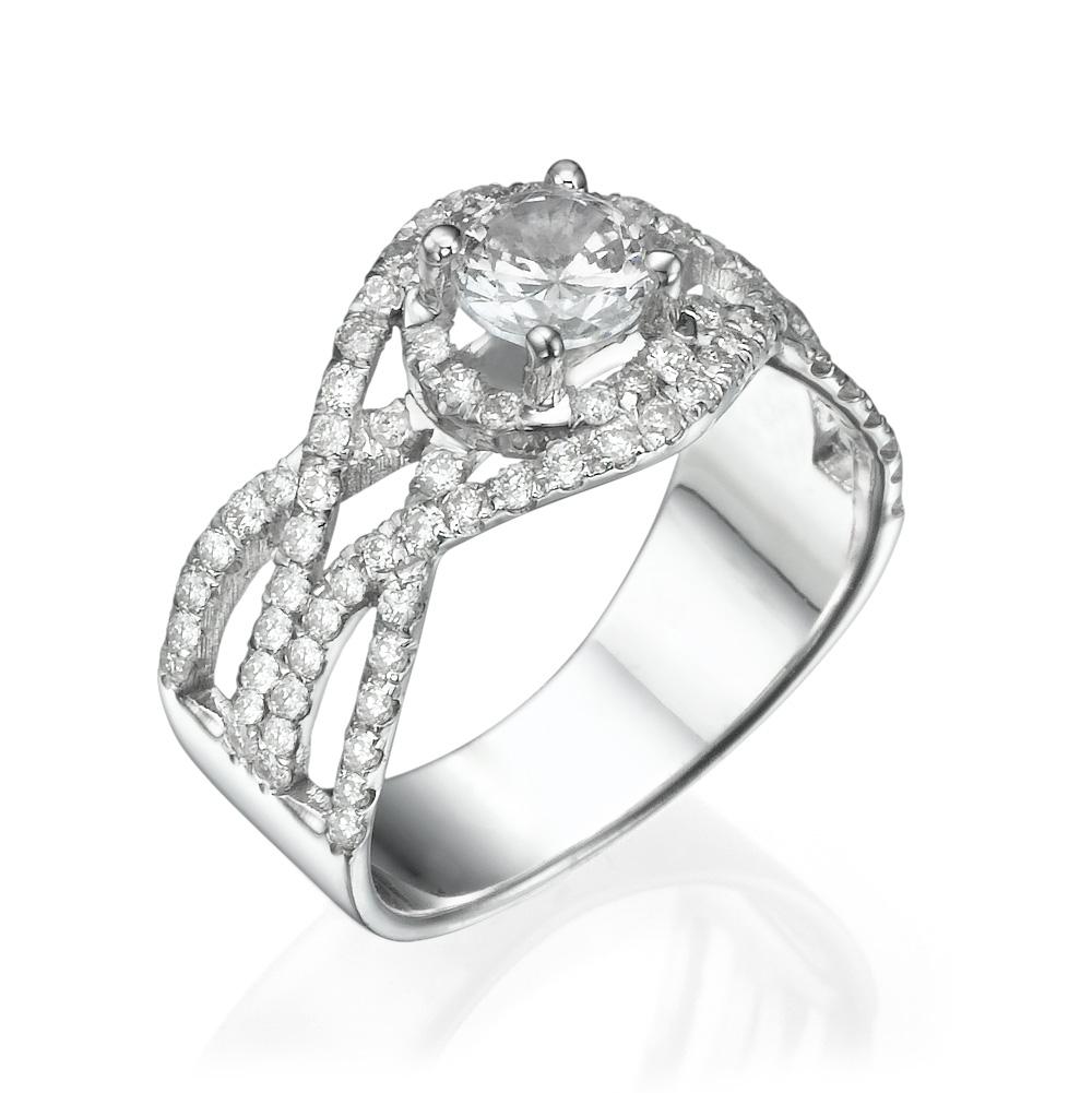 טבעת יהלומים מיוחדת אנני