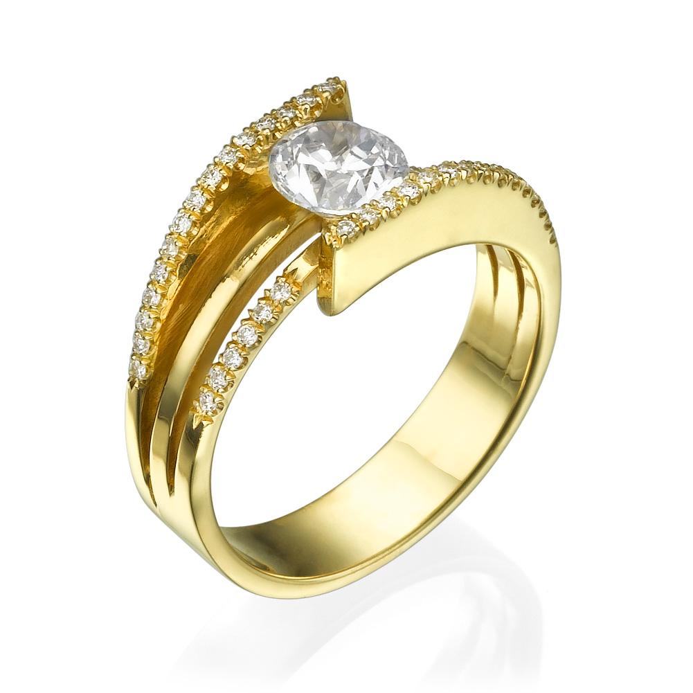 טבעת יהלומים מיוחדת בבל