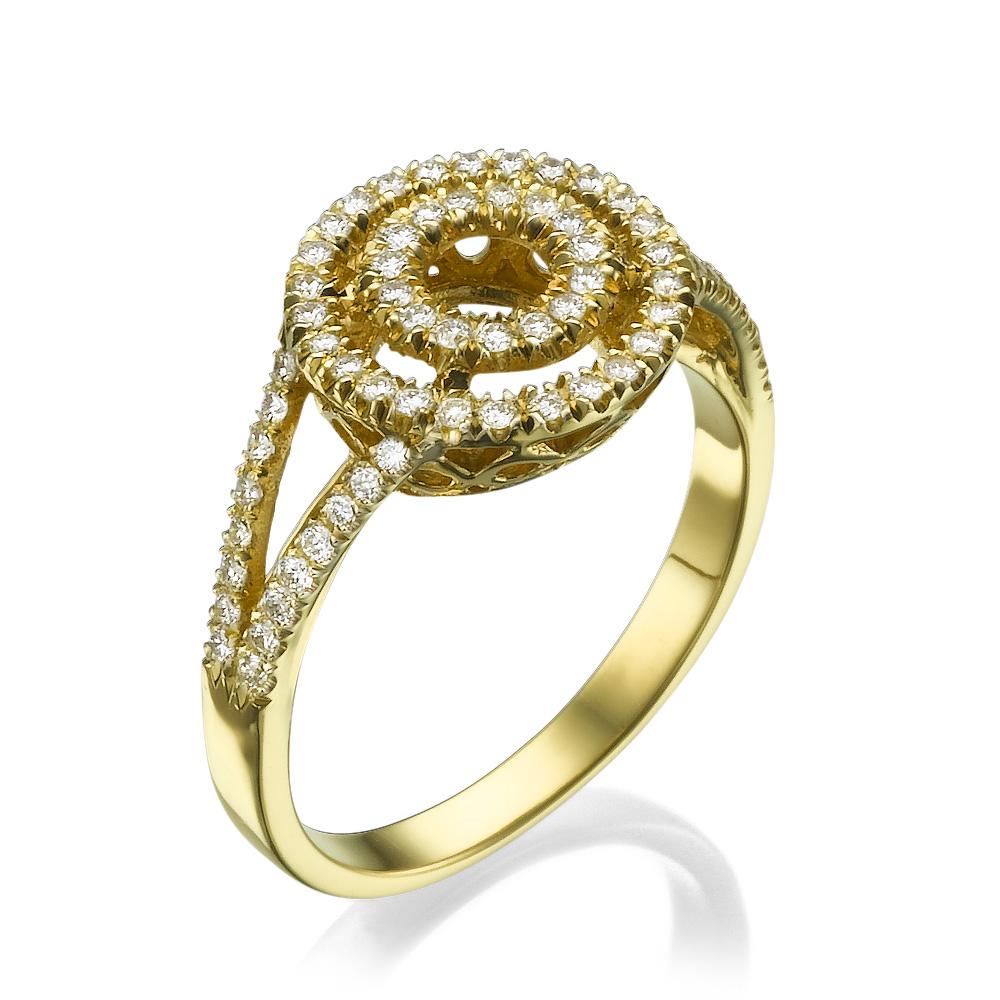 טבעת אירוסין מרשימה לוב