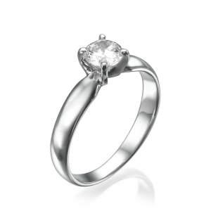 טבעת אירוסין עדינה מלאני