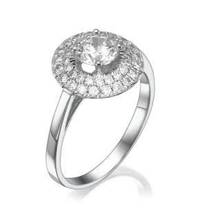 טבעת יהלומים מיוחדת יהלומית