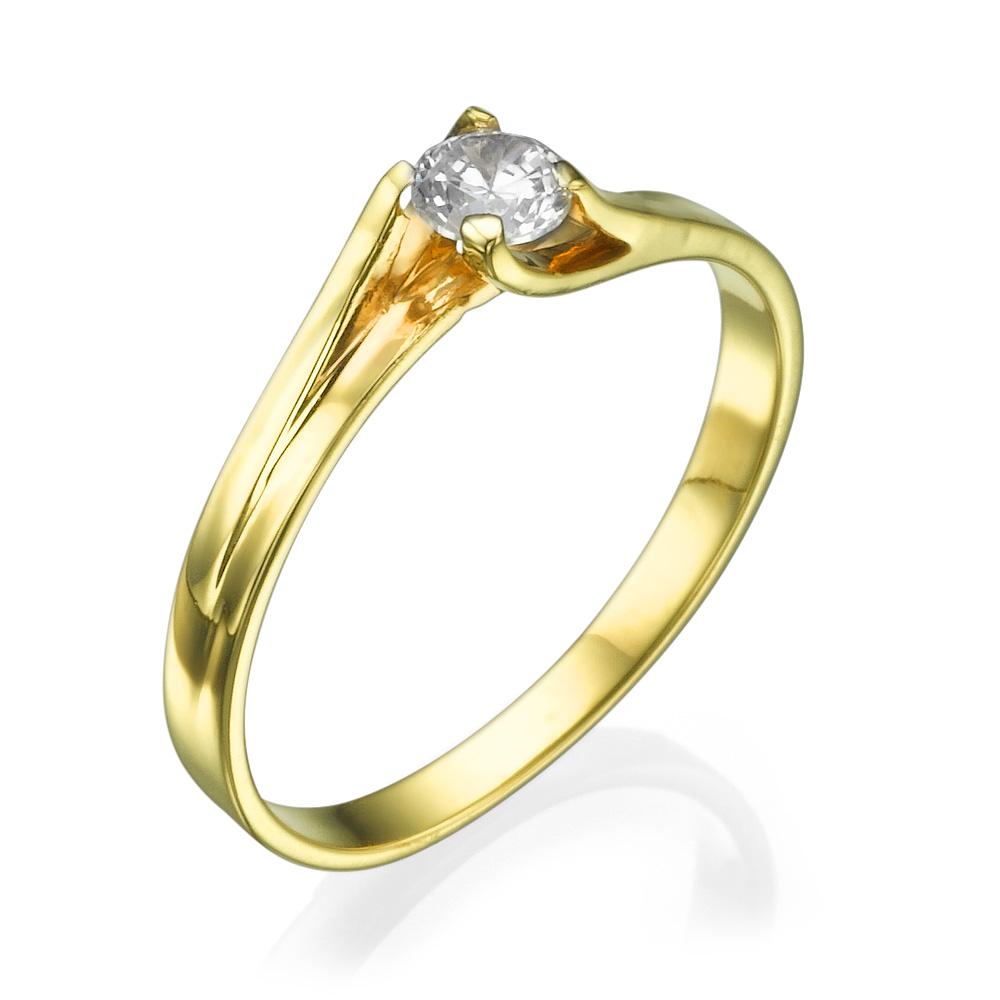 טבעת אירוסין דובשנית