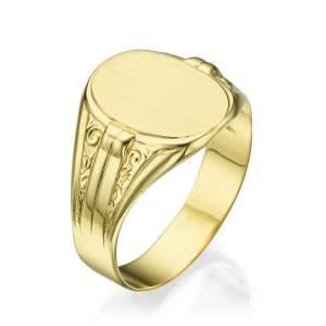 טבעת חותם דגם קיסר