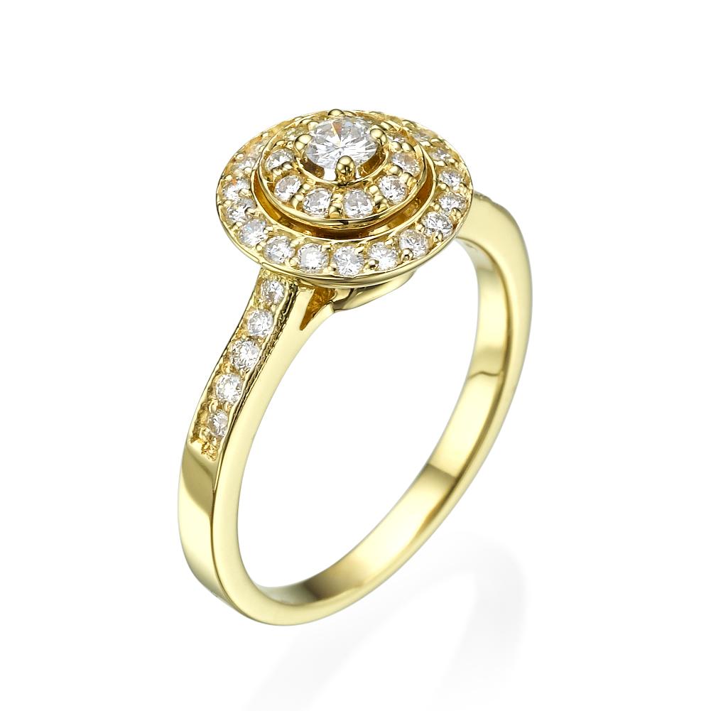 טבעת אירוסין מיוחדת היילו