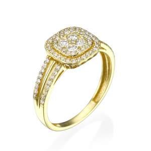 טבעת אירוסין מרשימה טה-אמו