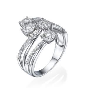 טבעת יהלומים לטיקה
