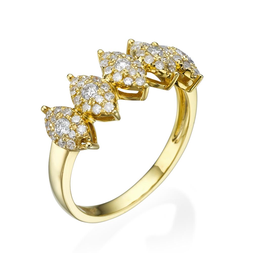 טבעת יהלומים ריימונד