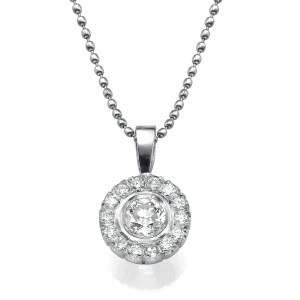 תליון יהלומים מדליית היופי
