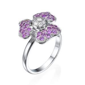 טבעת יהלומים פינק ליידי