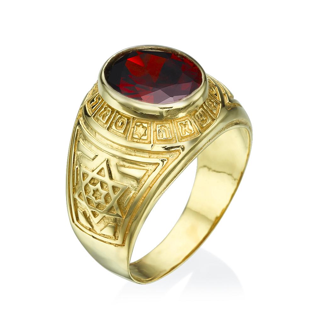 טבעת חותם דגם גנרל