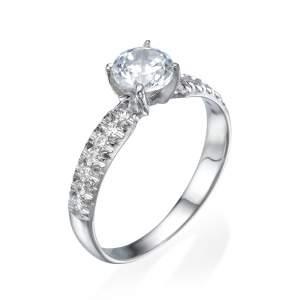 טבעת אירוסין קלאסית סניורה