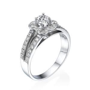 טבעת יהלומים מרשימה אלכסנדרה