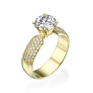 טבעת אירוסין מרשימה גראנד דיאמונד