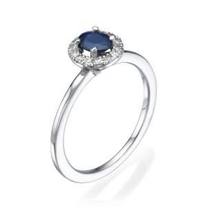 טבעת יהלומים יוקרתית אוקיינוס פרינס