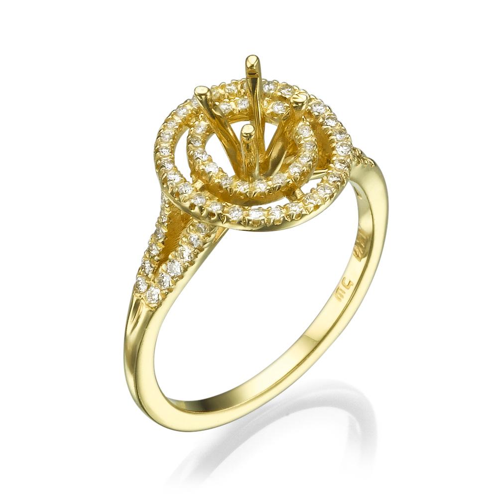 טבעת אירוסין מרשימה גולדן רינגס