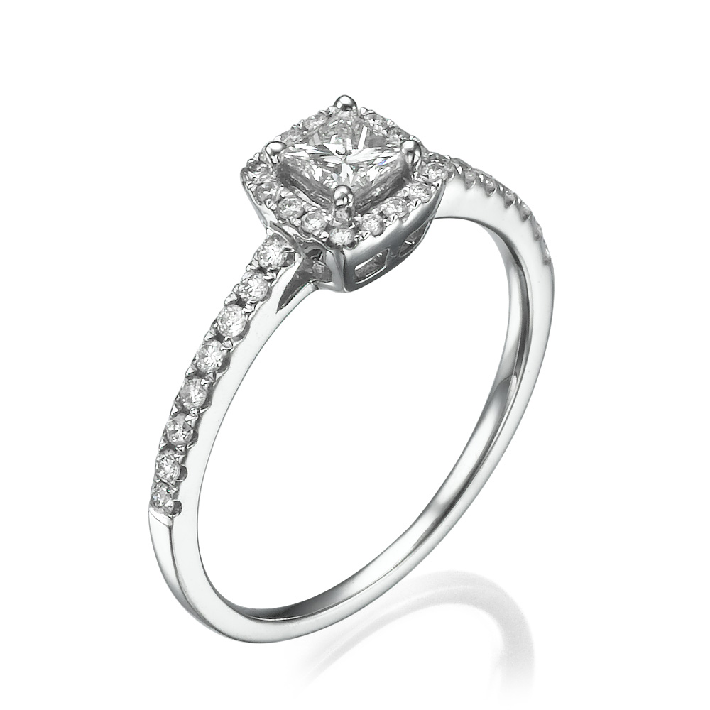 טבעת אירוסין עדינה עדן