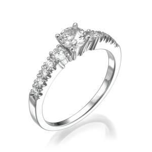 טבעת יהלומים מרשימה סאנרייז