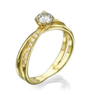 טבעת אירוסין מלכותית אנסטסיה
