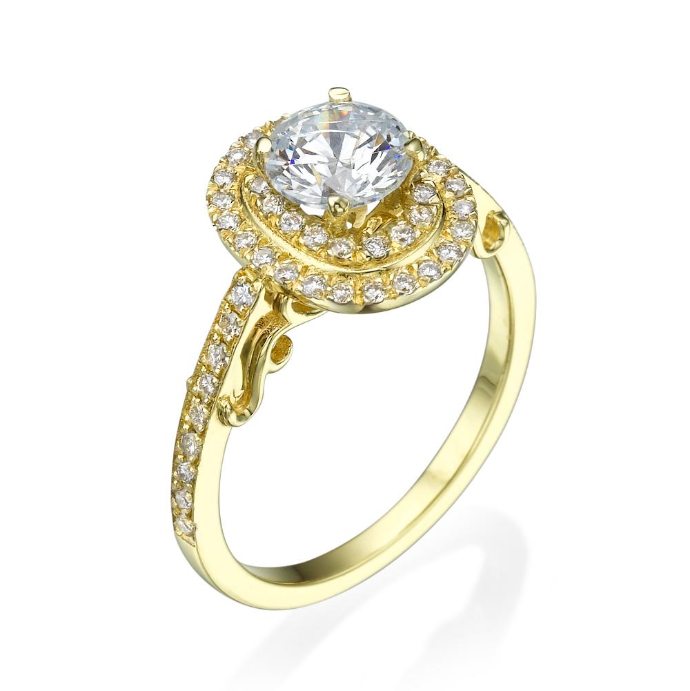 טבעת אירוסין מרשימה אמור