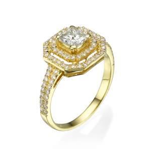 טבעת אירוסין מרשימה ז'ה טם