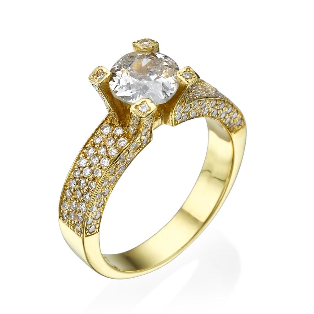 טבעת יהלומים וינטג הרוזנת