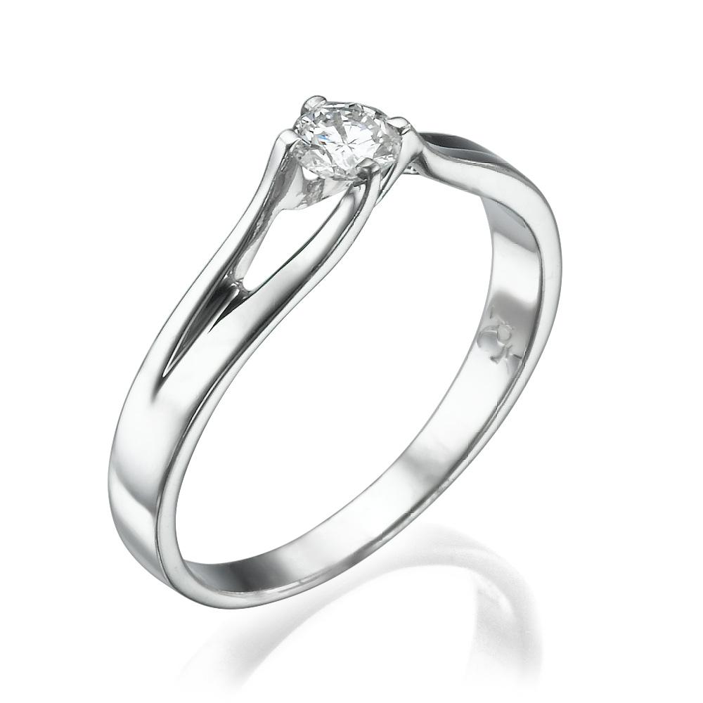טבעת אירוסין עדינה עדי